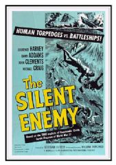 The Silent Enemy 1958 DVD - Laurence Harvey / Michael Craig